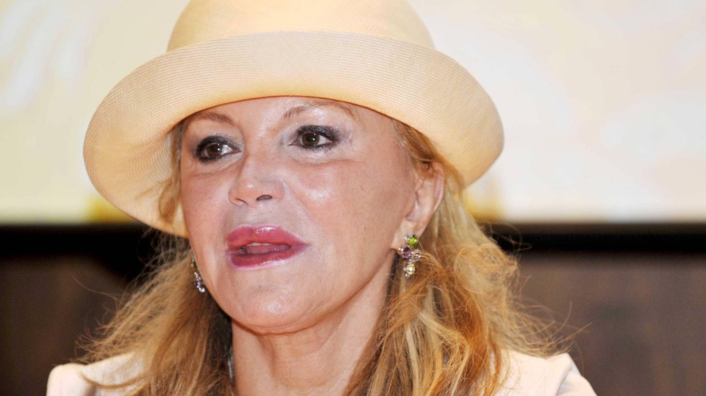 Tita Cervera, durante la inauguración de una exposición en Madrid en 2010. (Cordon Press)