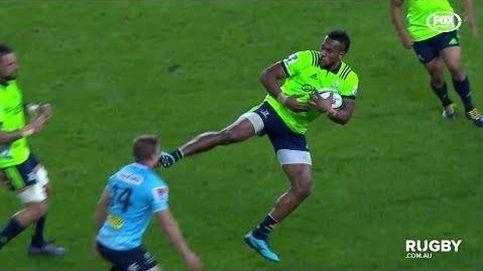 La brutal patada que asusta en el rugby mundial