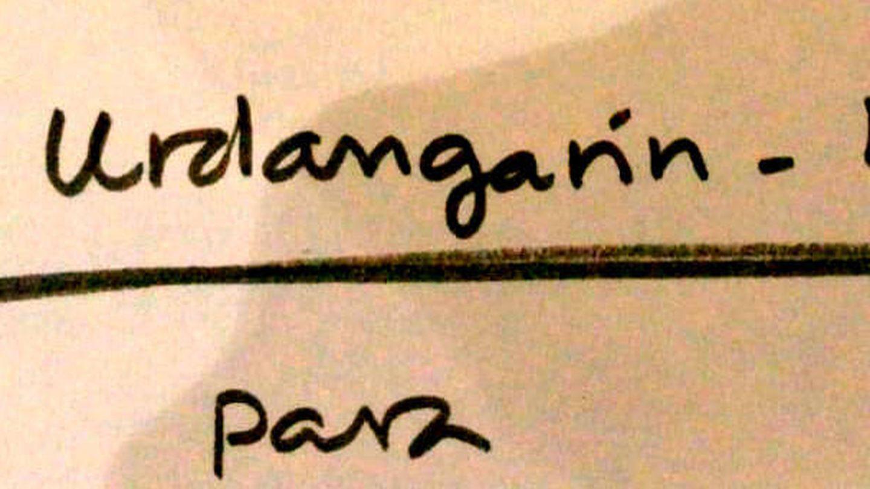 Nota dedicada de la familia Urdangarin de Borbón. (Vanitatis)