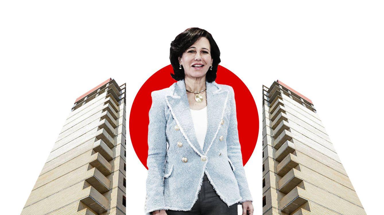 Santander rompe el mercado: pone en venta 6.000M en hipotecas y suelos