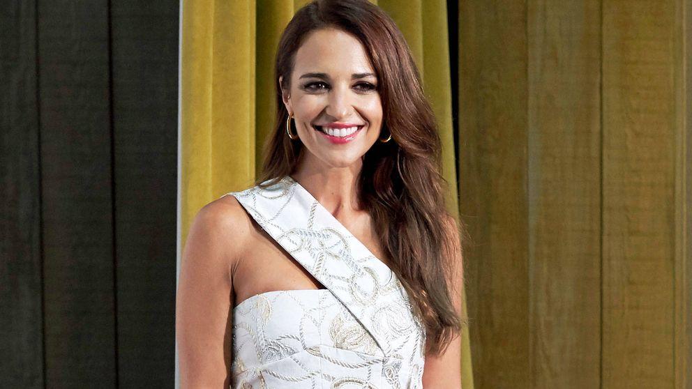 Paula Echevarría ha dado con el vestido largo creado para brillar