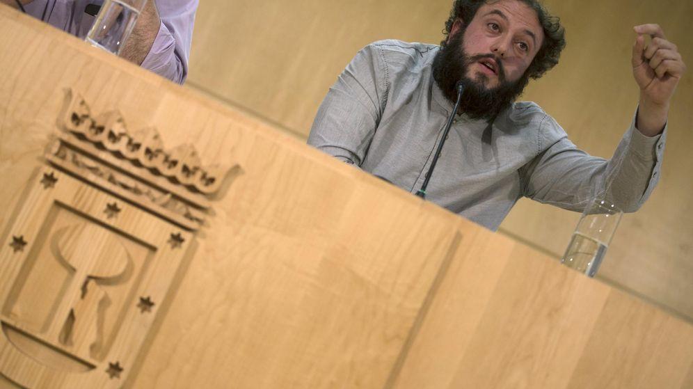 Foto: El exconcejal del Cultura del Ayuntamiento de Madrid, Guillermo Zapata (Reuters)