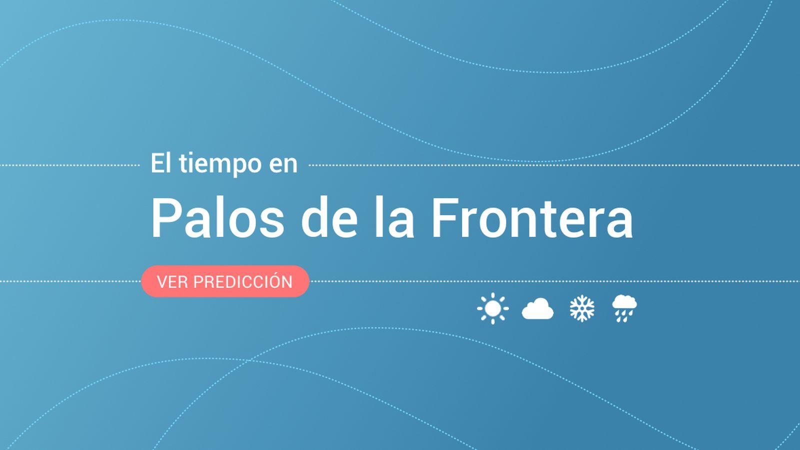 Foto: El tiempo en Palos de la Frontera. (EC)