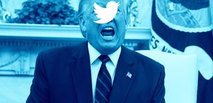 Post de Twitter pone a Trump en el punto de mira de su método anti 'fake news' por primera vez