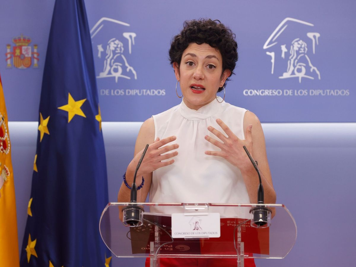 Foto: La portavoz de En Comú Podem en el Congreso de los Diputados, Aina Vidal. (EFE)