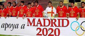 Foto: Deportivo Español, el último apoyo para Madrid 2020 que llega desde el fútbol argentino