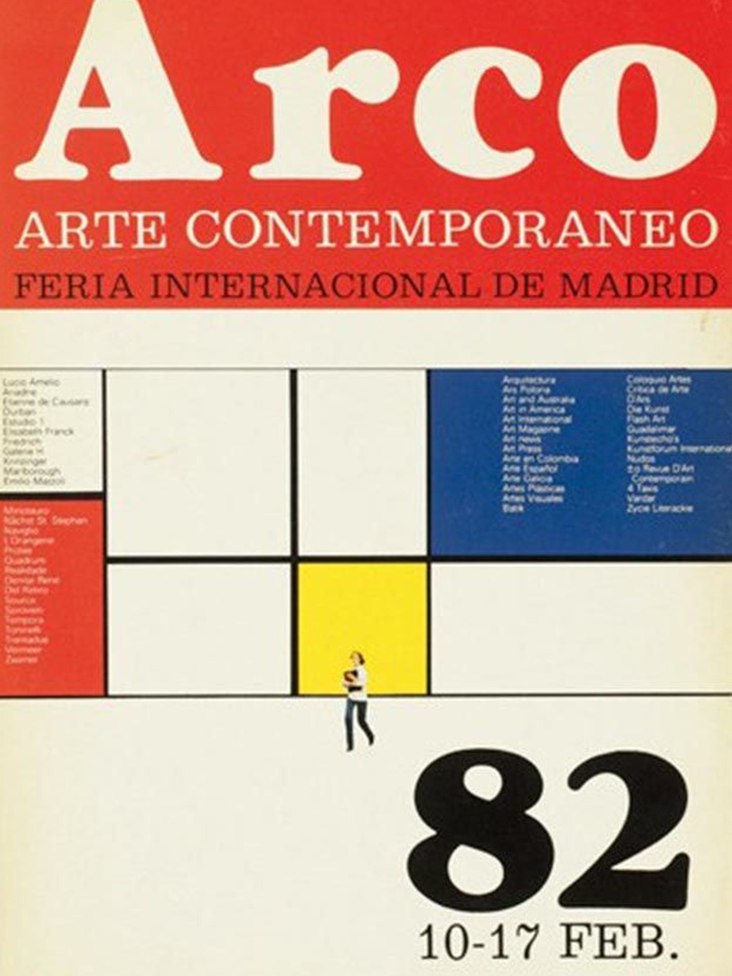 Cartel de la primera edición de ARCO.