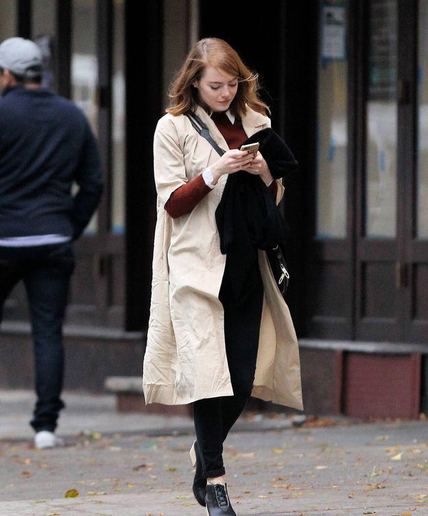 Foto: Emma Stone huye de las redes sociales. (Foto: Gtres)