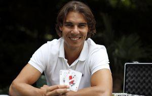 Rafa Nadal cae en las redes del póquer en directo