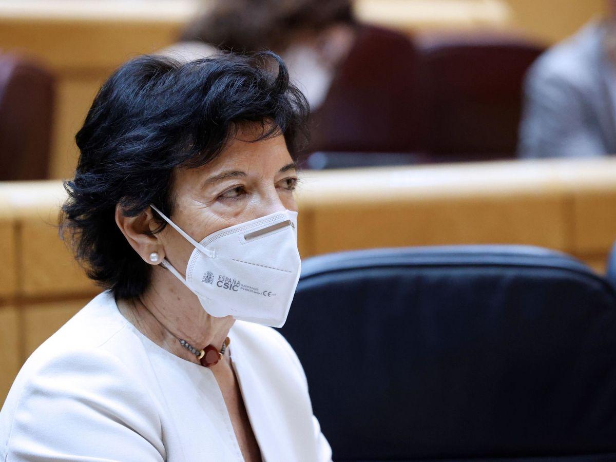 Foto: La ministra de Educación, Isabel Celaá. (EFE)