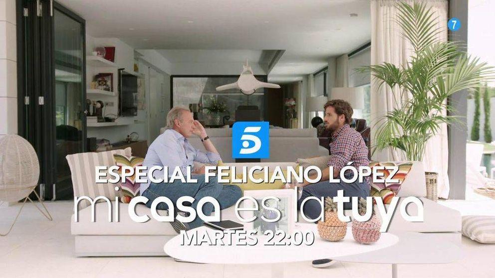 Bertín Osborne entrevista a Feliciano López el próximo martes 18 de julio