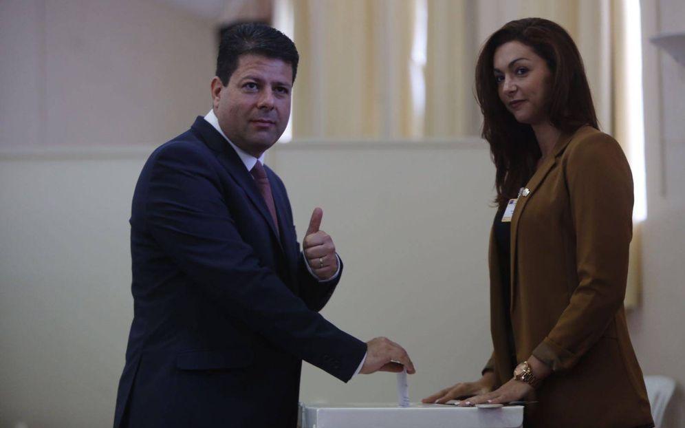 Foto: Fabián Picardo vota a favor de seguir en la UE. (Foto: Fernando Ruso)