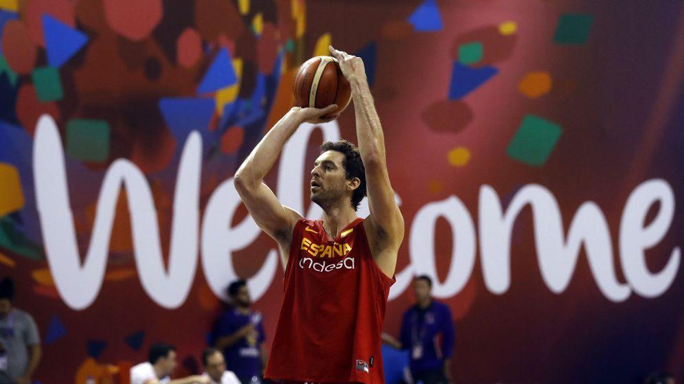 Foto: Pau Gasol se convirtió en el último partido en el máximo anotador de la historia del EuroBasket. (EFE)
