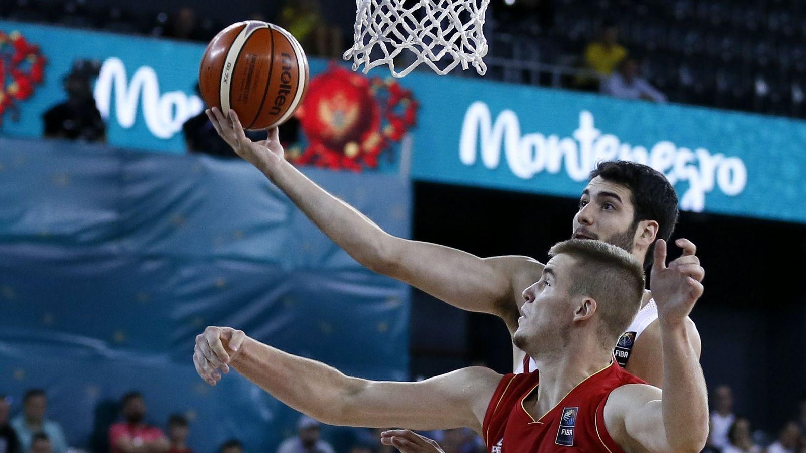 Foto: Álex Abrines fue titular en el España-Montenegro. (EFE)
