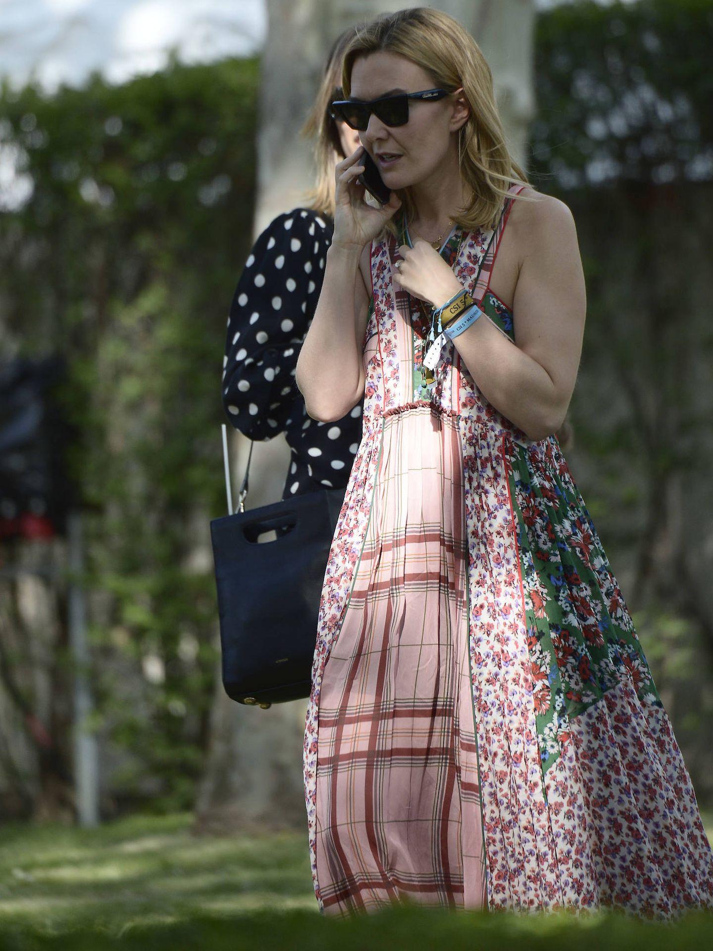 Marta Ortega lució un modelo de Zara. (Limited Pictures)
