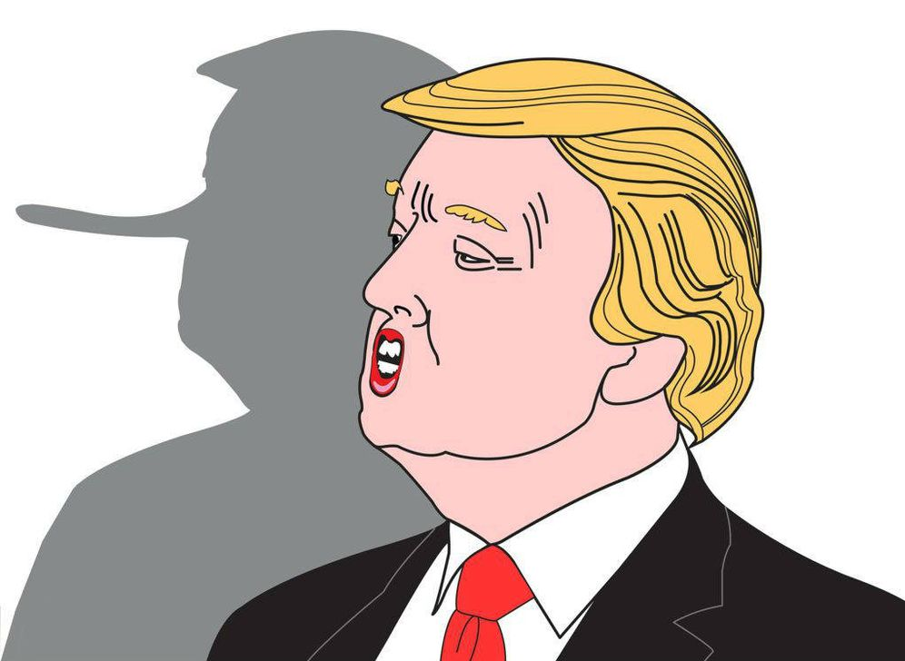 Foto:  Donald Trump. (Ilustración: Lisette Brodey. Pixabay / Creative Commons)