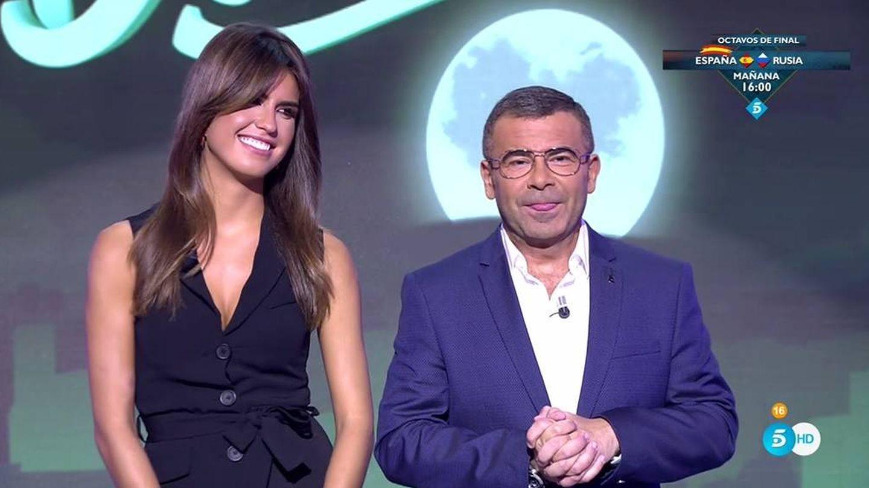 Sofía Suescun y Jorge Javier, en 'Sábado Deluxe'. (Telecinco).