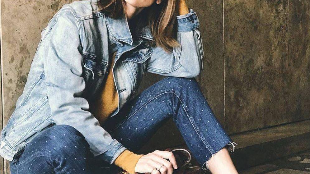 Foto: La modelo Eugenia Silva con un casual look un día cualquiera. (Instagram)