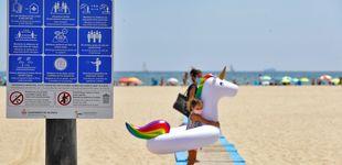 Post de Sol, toalla y aforos: las medidas de las playas españolas para evitar contagios
