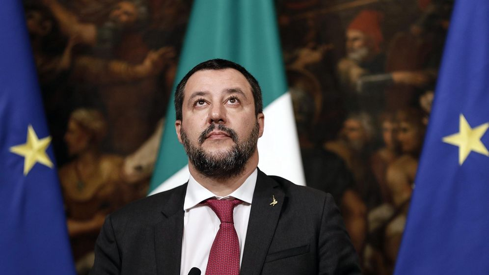 Foto: El viceprimer ministro y ministro de Interior italiano, Matteo Salvini. (EFE)