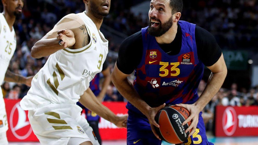 Los cánticos a Mirotic y la nueva derrota del Barça: el Madrid le tiene tomada la medida