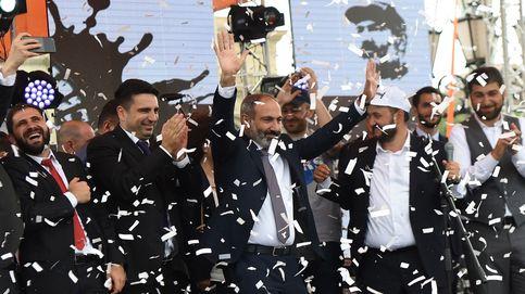 El Parlamento de Armenia nombra primer ministro al líder de las protestas