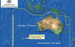 China detecta nuevos rastros que podrían pertenecer al avión malasio