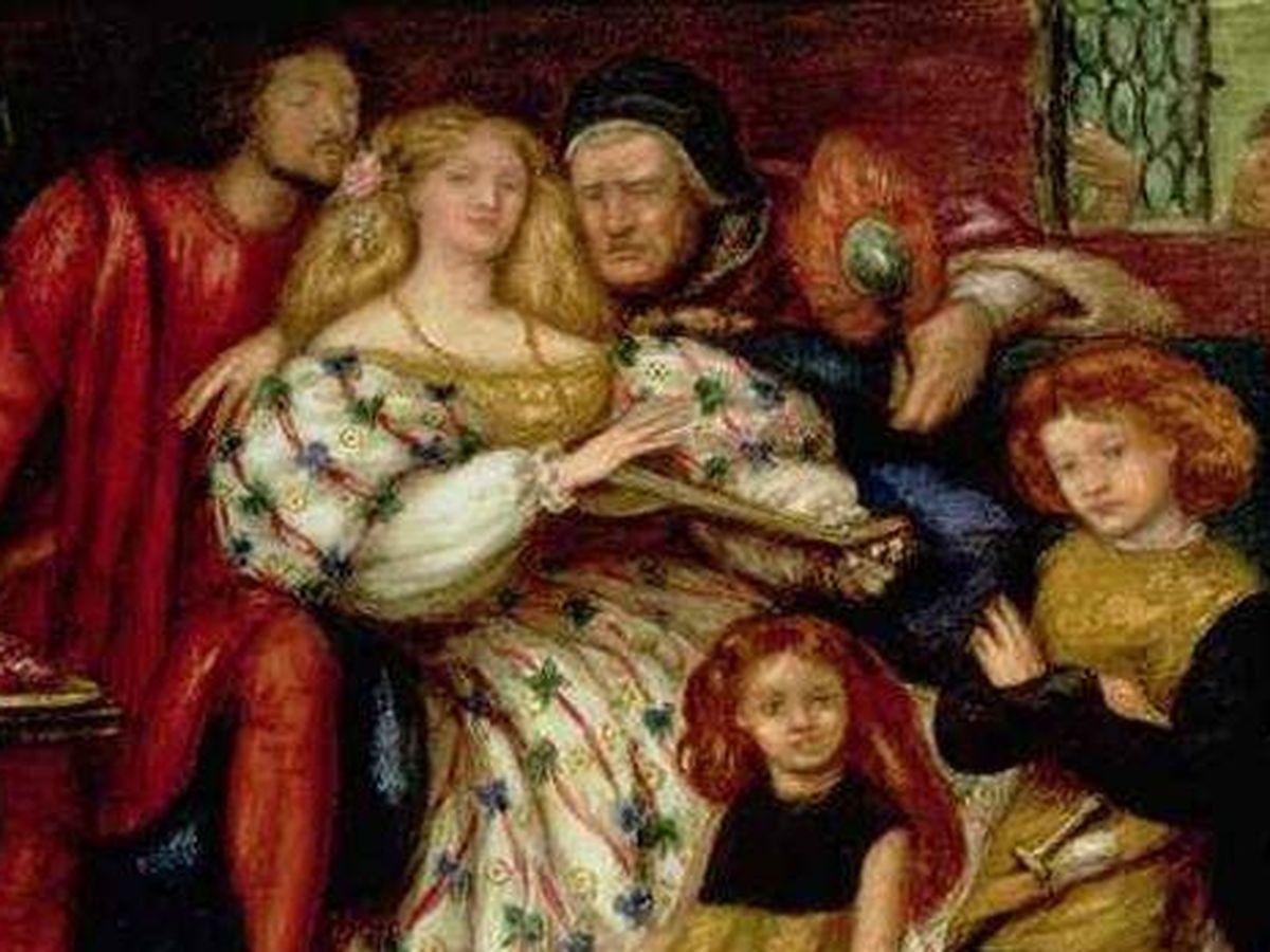Foto: La familia Borgia retratada por Dante Gabriel Rossetti. (Wikipedia)