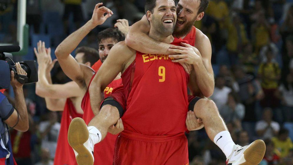 Foto: Los 15 veranos de Felipe Reyes con la selección española de baloncesto