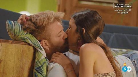 Andrea se lía con Óscar e Ismael rompe en 'La isla de las tentaciones': ¡Qué asco!