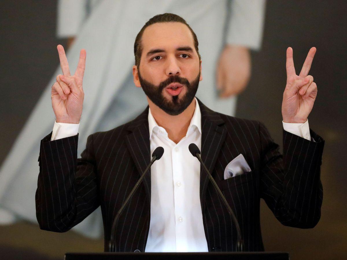 Photo: The president of El Salvador, Nayib Bukele.  (Reuters)