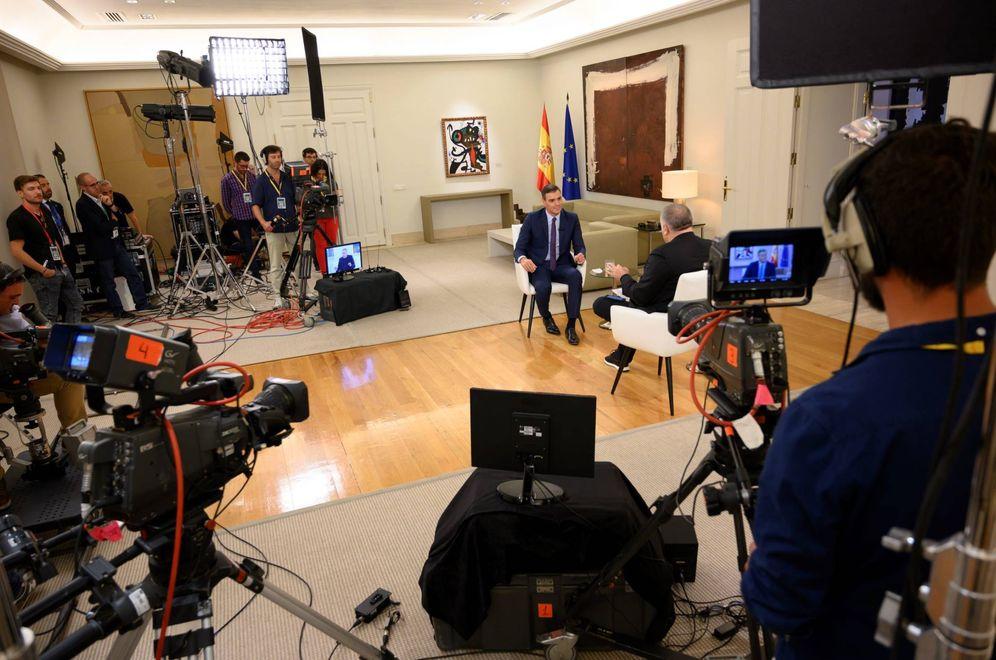 Foto: Pedro Sánchez, durante su entrevista en 'Al rojo vivo' el pasado 19 de septiembre. (Borja Puig de la Bellacasa | Moncloa)