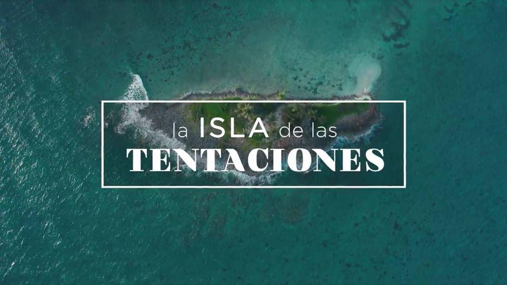 Foto: Logotipo de 'La isla de las tentaciones'. (Captura de Mediaset)