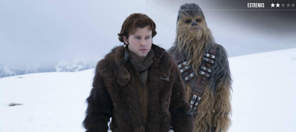 Foto: Alden Ehrenreich es Han Solo en 'Solo: una historia de Star Wars'. (Disney)
