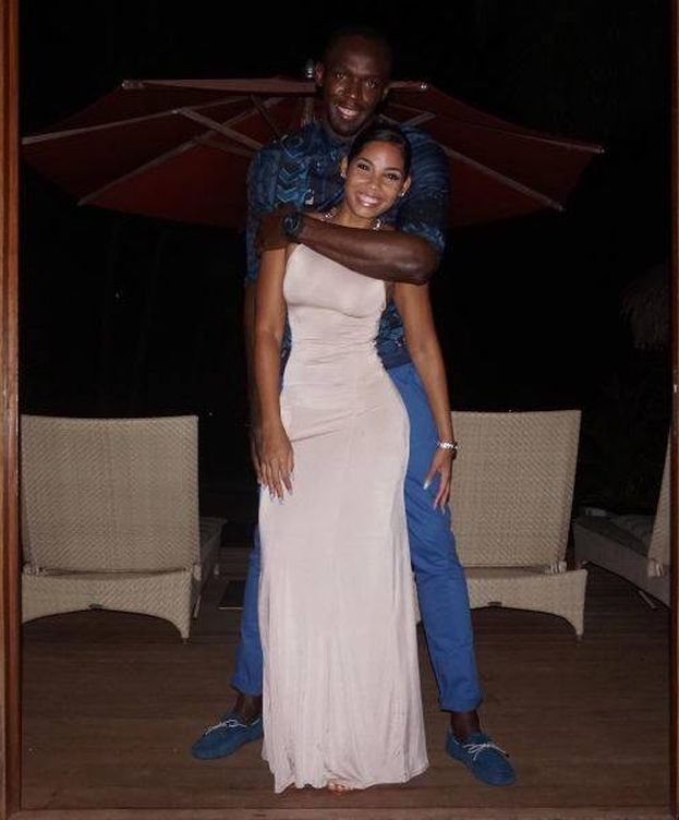 Foto: Bolt con su prometida