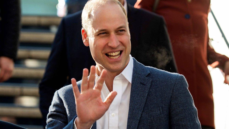 Las 3 visitas secretas del príncipe Guillermo a un centro benéfico que honran a la princesa Diana
