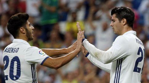 Morata se estrena como goleador, pero Mariano le sigue ganando en ambición