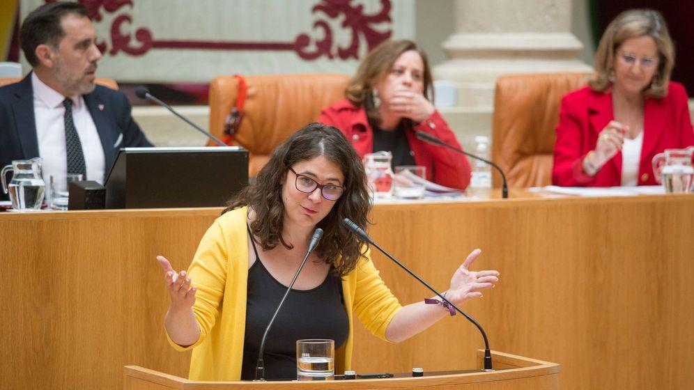 Foto: La diputada de Podemos Raquel Romero. (EFE)
