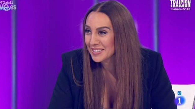Mónica Naranjo en una de sus intervenciones en TVE.