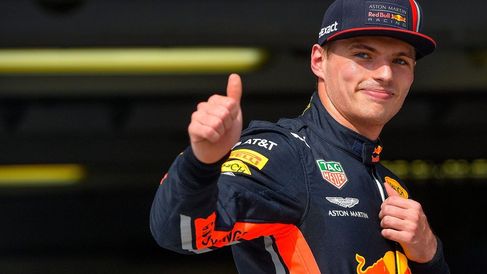 Foto: Verstappen logró la primera pole de su historia en la Fórmula 1. (EFE)
