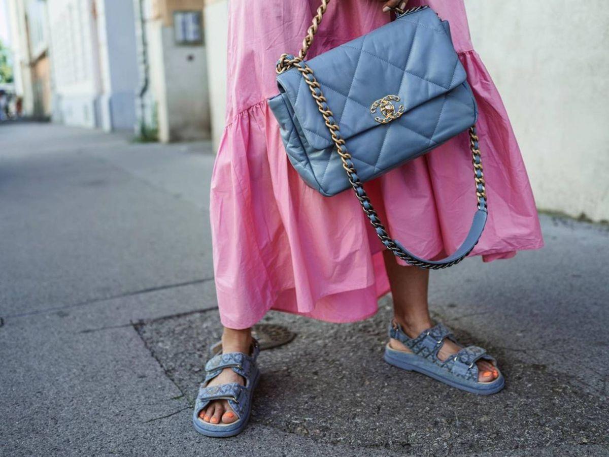 Foto: Las sandalias de Chanel. (Instagram @constantly_k)
