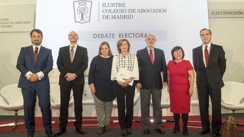 Los candidatos a las elecciones del ICAM convierten el debate electoral en un sainete