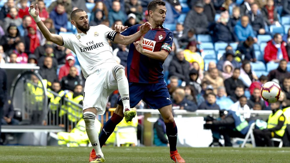 Foto: Real Madrid - Eibar. (Efe)