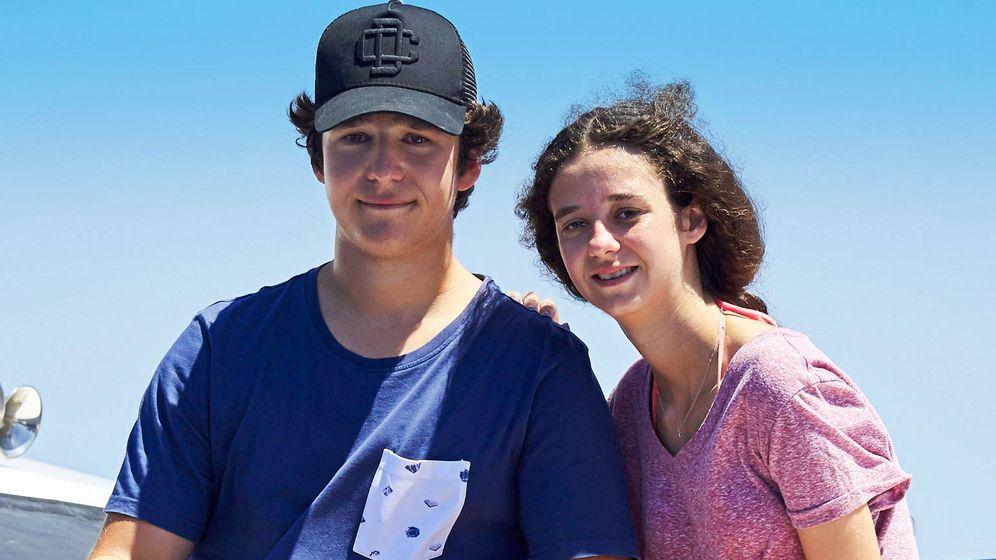 Foto: Froilán y Victoria Federica en una imagen de archivo. (Getty)