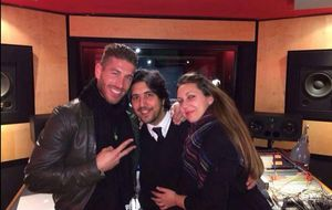 Sergio Ramos y Niña Pastori, nuevo dúo musical