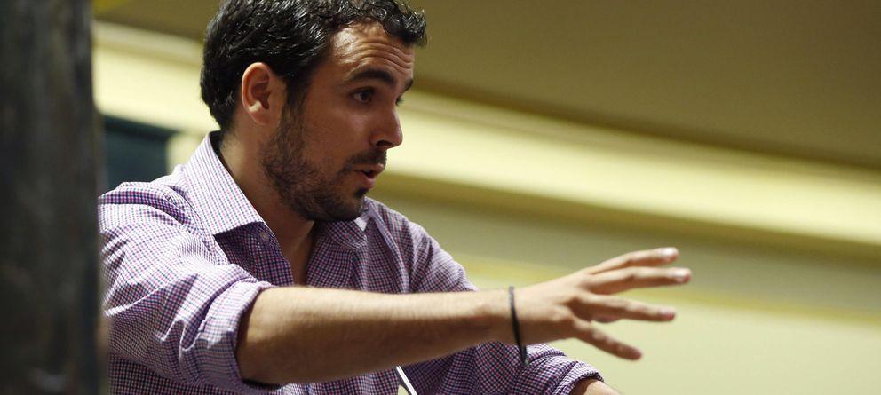 Foto: El diputado de Izquierda Unida, Alberto Garzón, en una imagen de archivo (EFE)