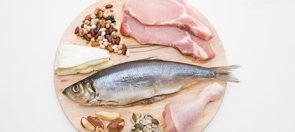 Foto: Alimentos ricos en proteínas. (Corbis)