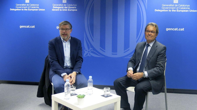 """Artur Mas se vende en Bruselas como un """"Mandela"""" a la catalana"""