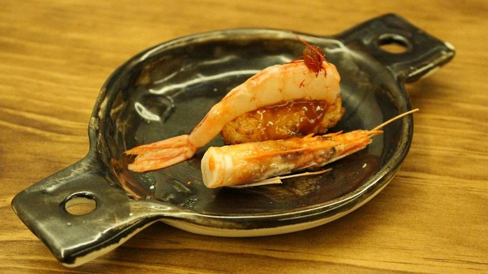 Foto: Umiko. Niguiri de paella
