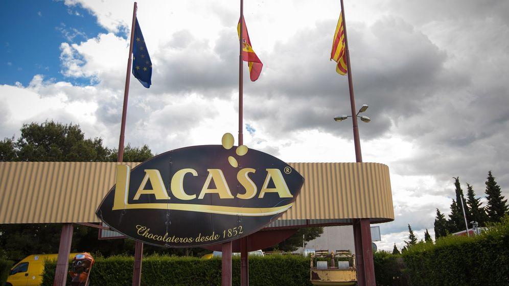 Foto: Fábrica de chocolate Lacasa, cerca de Zaragoza. (EFE)